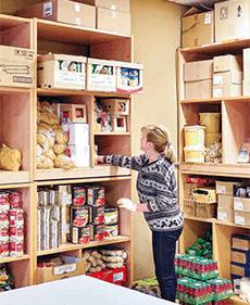 Lebensmittelausgabe von HelferTeam Rothenburgsort